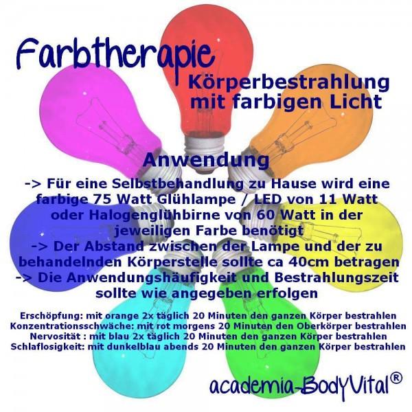 Farbtherapie Seminar