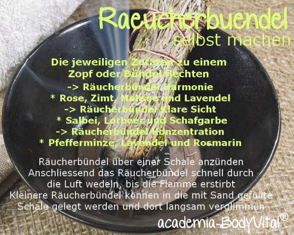 Räuchern & Räucherrituale Basiskurs