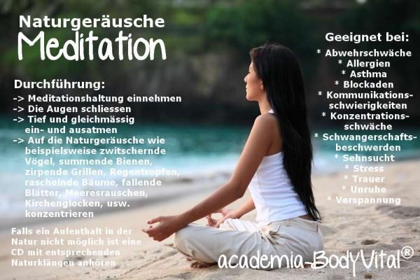 Entspannung & Meditation Basiskurs